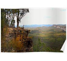 Carnarvon Bluff - Carnarvon Gorge - Queensland Poster
