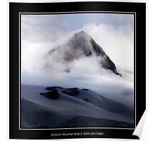 Antarctic Mountain Peak Poster