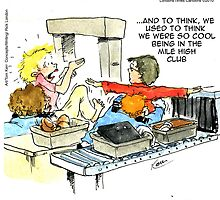 Mile High Club by Londons Times Cartoons by Rick  London