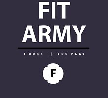Fit Army Tank in Blue/White/Black Tank Top