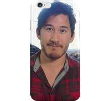 Markiplier in Red Flannel iPhone Case/Skin