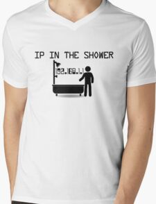 IP in the shower Mens V-Neck T-Shirt