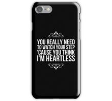 Heartless. iPhone Case/Skin
