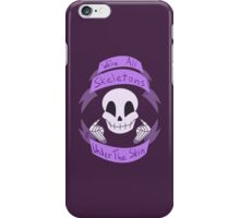 Skeletons Under The Skin iPhone Case/Skin