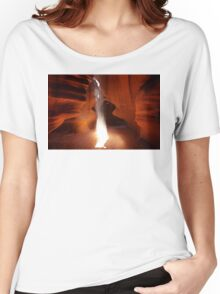 Antelope bonfire of sand Women's Relaxed Fit T-Shirt