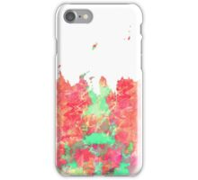 WATER COLOUR SPLASH iPhone Case/Skin