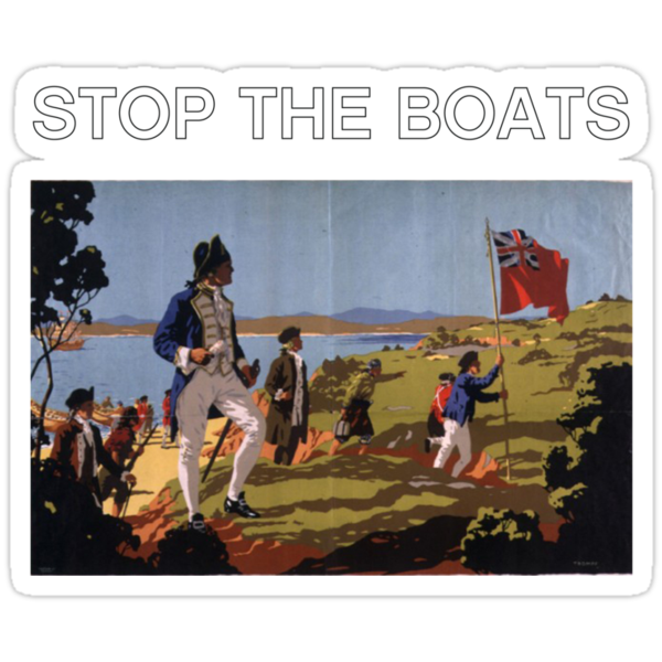 STOP THE BOATS by Matt to the Value of K