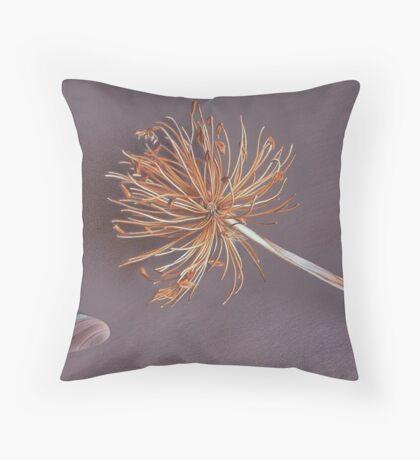 """""""Nature's memories"""" - close-up detail (2) Throw Pillow"""