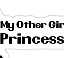 My other girlfriend is Princess Peach - Nintendo Sticker