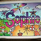 Sophie personalised picture by FoxyArtz
