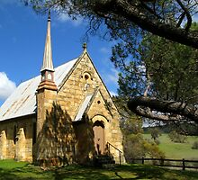 Historic Byng Church by Marilyn Harris