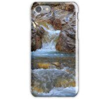 Kananaskis cascades iPhone Case/Skin