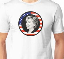 hillary clinton : us flag Unisex T-Shirt