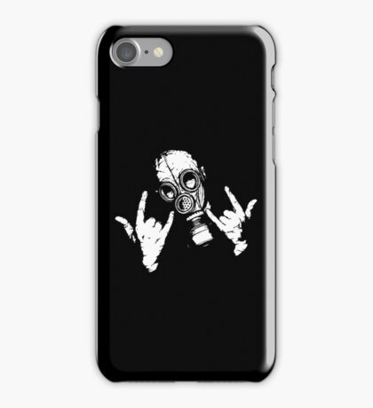 Devil Horns (White Version) iPhone Case/Skin