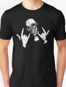 Devil Horns (White Version) Unisex T-Shirt