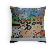 Logan personalised picture Throw Pillow