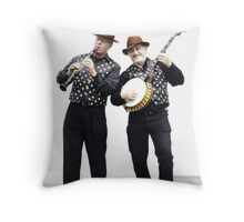 Jazz Jokers Throw Pillow