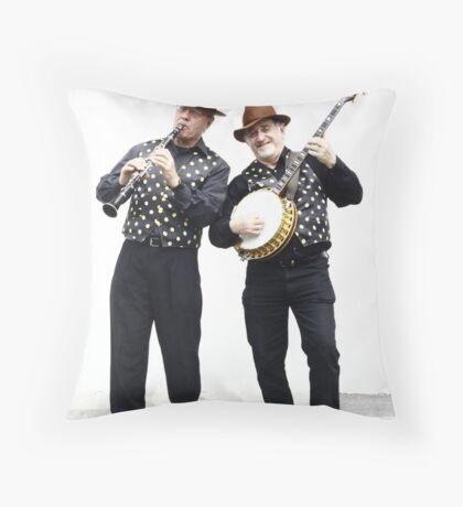 Jazz Jokers Throw Pillow