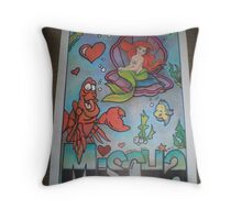 Mischa personalised picture Throw Pillow