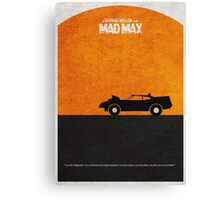 Mad Max Canvas Print