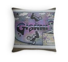Gianni personalised picture Throw Pillow