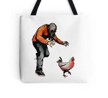 LEROY VS THE EVIL ZOMBIE CHICKEN! Tote Bag