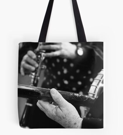 Jazz on a 'working holiday' Tote Bag