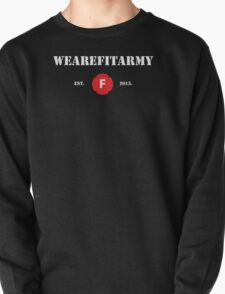 WAFA Fitted T-Shirt in Black/White/Red Pullover