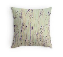 Out on the Prairie  Throw Pillow