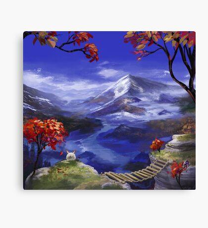 Chrono Trigger: Mountains're Nice Canvas Print