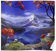 Chrono Trigger: Mountains're Nice Poster