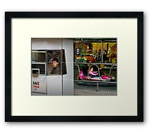 Photo Essay : The Carnival is Over  Framed Print