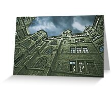 Gothic dream Greeting Card