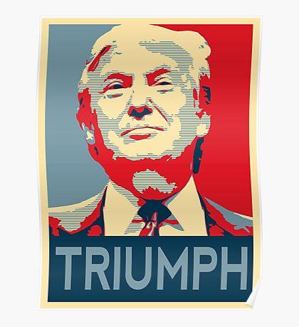trump triumph Poster