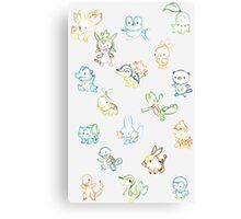 pokemon! Canvas Print