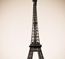 Eiffel Tower in Sepia by kbudz
