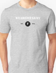 WAFA Fitted T-Shirt in Gray/White/Black Unisex T-Shirt