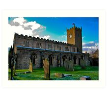 St Oswald's Church - Asgrigg Art Print