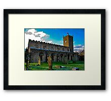 St Oswald's Church - Asgrigg Framed Print