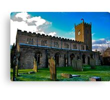 St Oswald's Church - Asgrigg Canvas Print