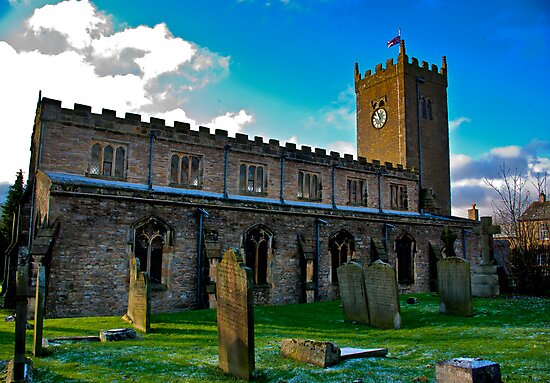 St Oswald's Church - Asgrigg by Trevor Kersley