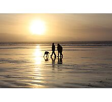 Beach Family Photographic Print