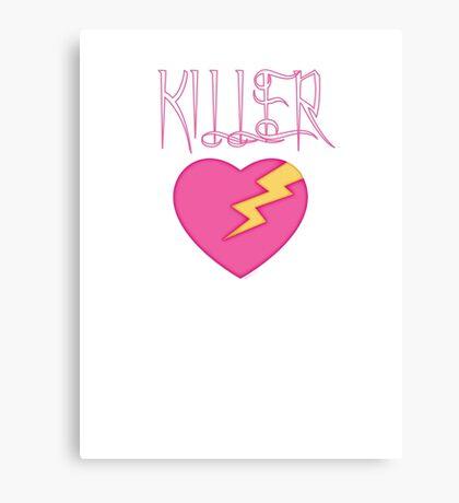 Killer Love Lightning. Canvas Print