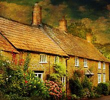 Cottages at Barrington by Catherine Hamilton-Veal  ©