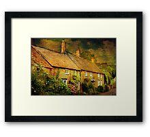 Cottages at Barrington Framed Print