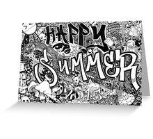 Happy Summer 2015 Greeting Card