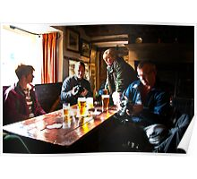 Busy Checking the Shots - Green Dragon Inn  Poster