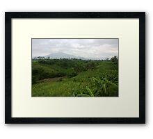 Gunung Butak, Jawa Timur Framed Print