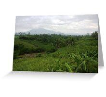 Gunung Butak, Jawa Timur Greeting Card