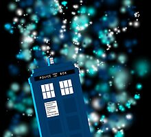 the TARDIS by amelia-pcnd